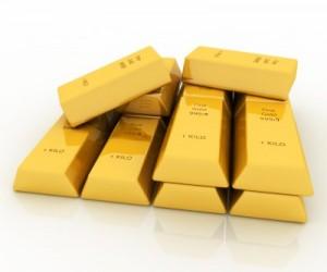 Стандартные банковские золотые слитки