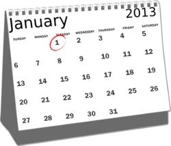 Календарь 2013 года