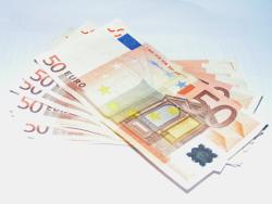 купюры в пятьдесят евро