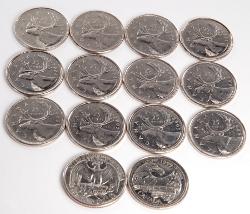 канадские серебряные монеты