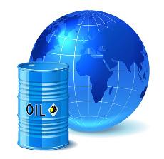 бочка нефти и земной шар